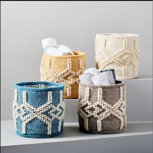 West Elm | Sweater Knit Basket